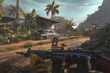 Una captura de pantalla del Far Cry 6, que llega en 2021