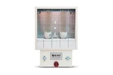 Lanin UV-50, un sistema sanitizante UV-C de uso general, se puede emplear en diferentes tipos de ambientes de forma fija, como baños, vestuarios o ascensores
