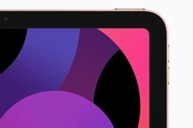 El nuevo iPad Air tiene una pantalla de 10,9 pulgadas y sensor de huellas dactilares en el botón de bloqueo