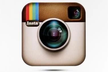 El logo original de Instagram, con un homenaje a las cámaras Polaroid