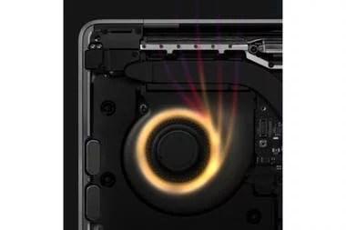 Apple destaca la presencia de un ventilador en la MacBook Pro de 13,3 pulgadas que enfría el chip M1