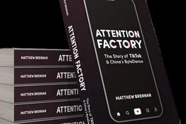 """Matthew Brennan es el autor del libro """"Attention Factory"""", el libro que cuenta la historia de Byte Dace y TikTok"""