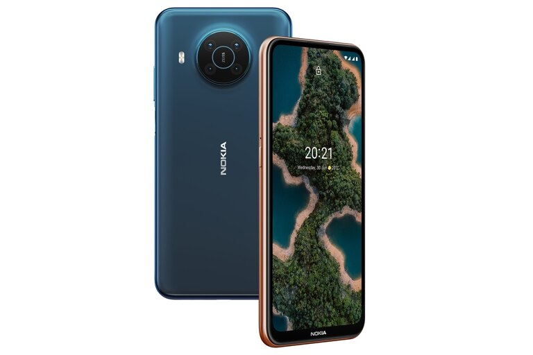 Un Nokia X20, con pantalla de 6,67 pulgadas y lentes Carl Zeiss
