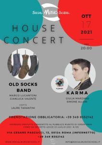 Ripartono gli House Concert @ Social Music School @ Social Music School