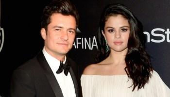 Selena Gomez Parties With Orlando Bloom