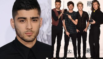Zayn Malik features with One Direction in new mash-up video