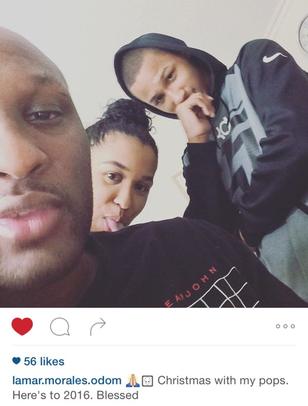 Lamar Odom's First Selfie Since Hospitalisation