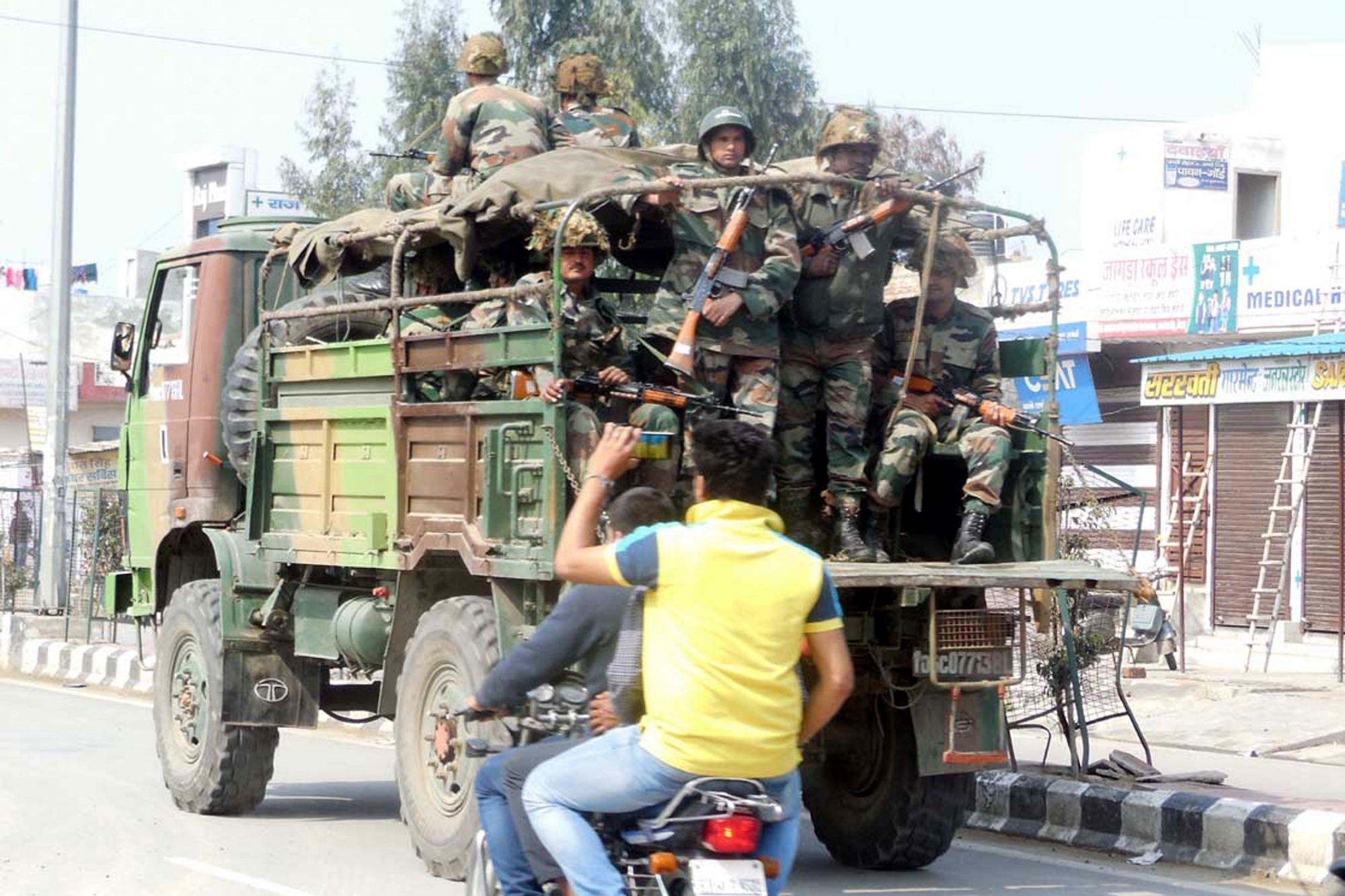 Army deployment continues in riot-hit Haryana after four days