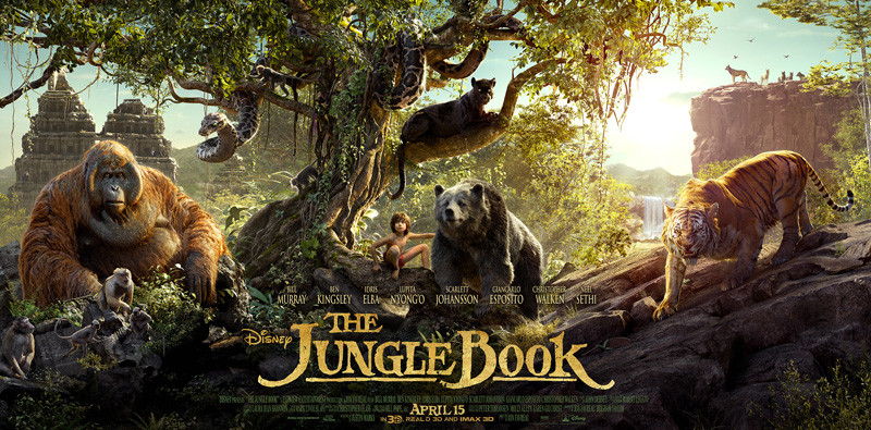 'The Jungle Book' leads for a third weekend at box office