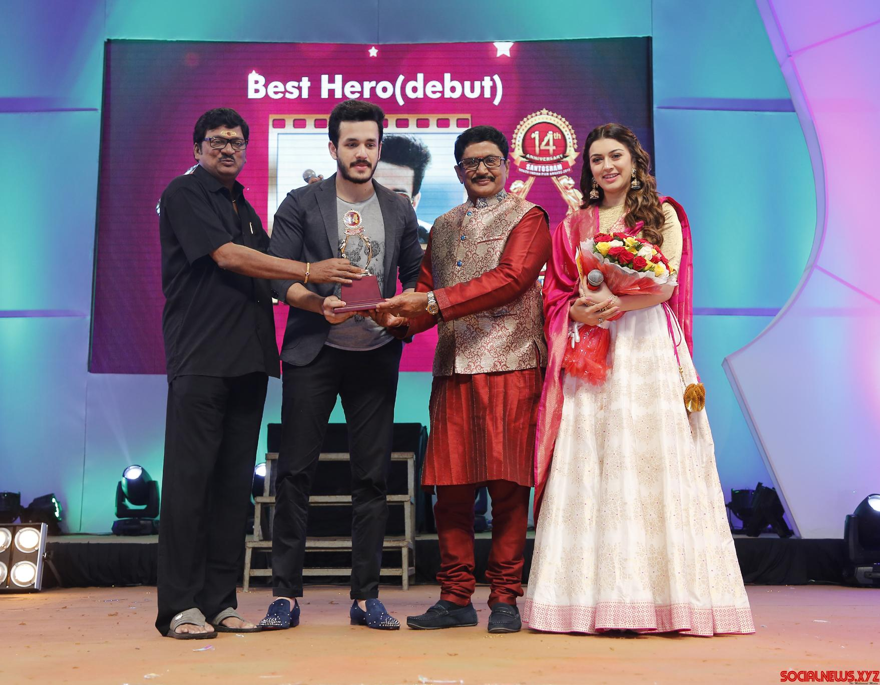 Santosham South India Film awards 2016 announced