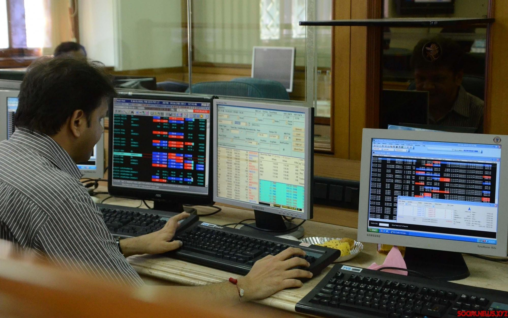 Markets open on positive note Wednesday morning