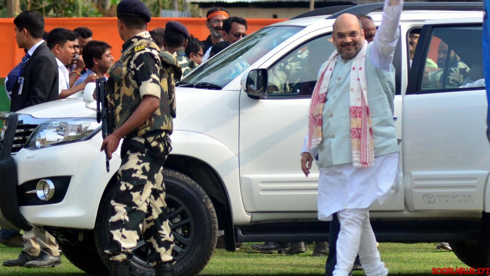 Now Z-plus, additional Delhi Police components to guard Amit Shah