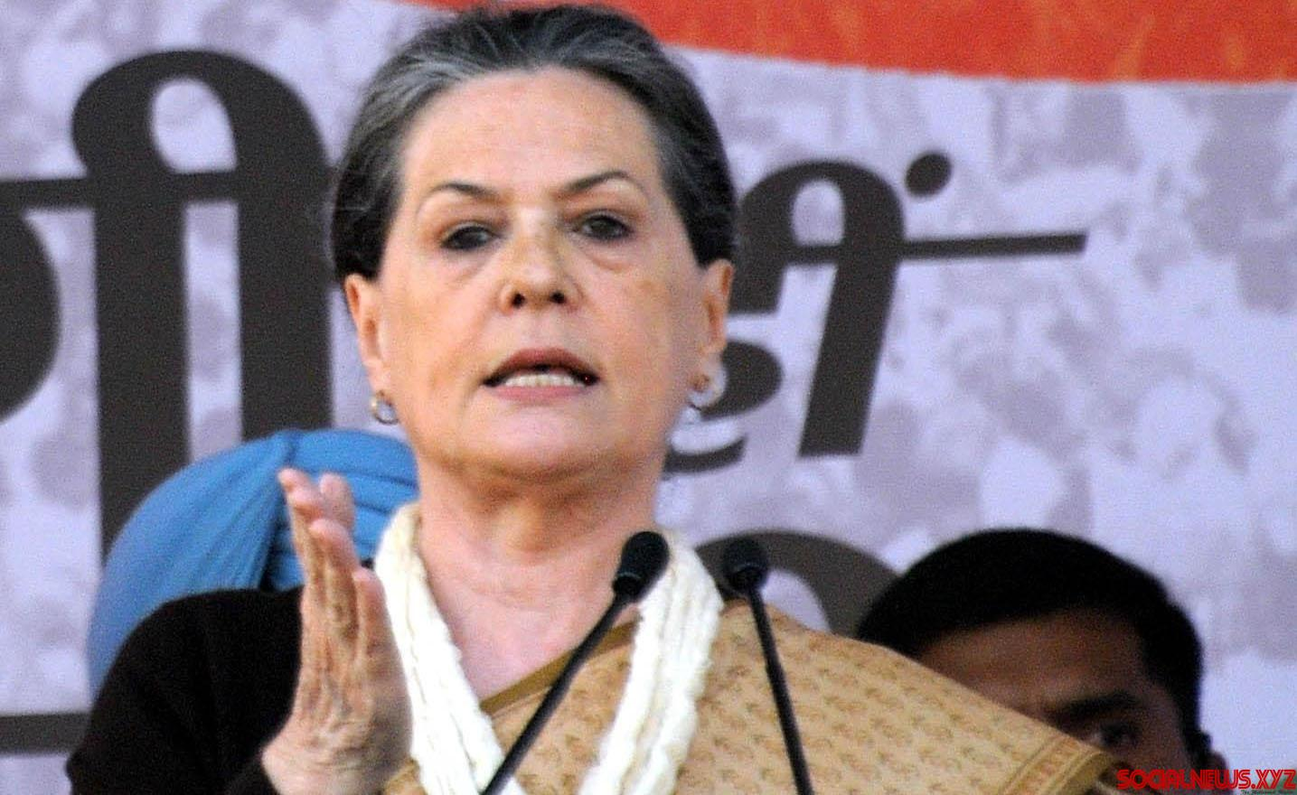 I didn't want to be Prime Minister: Sonia in LS