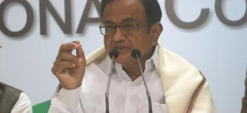 Congress leader P Chidambaram.(File Photo: IANS)