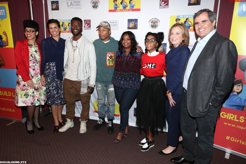 Hidden Figures LA Promise Funds Girls Build Screening Gallery