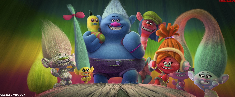 Trolls Movie Blu Ray DVD Stills