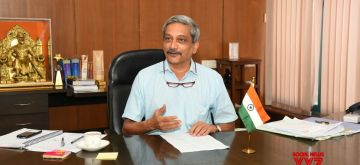 Goa Chief Minister Manohar Parrikar. (File Photo: IANS)