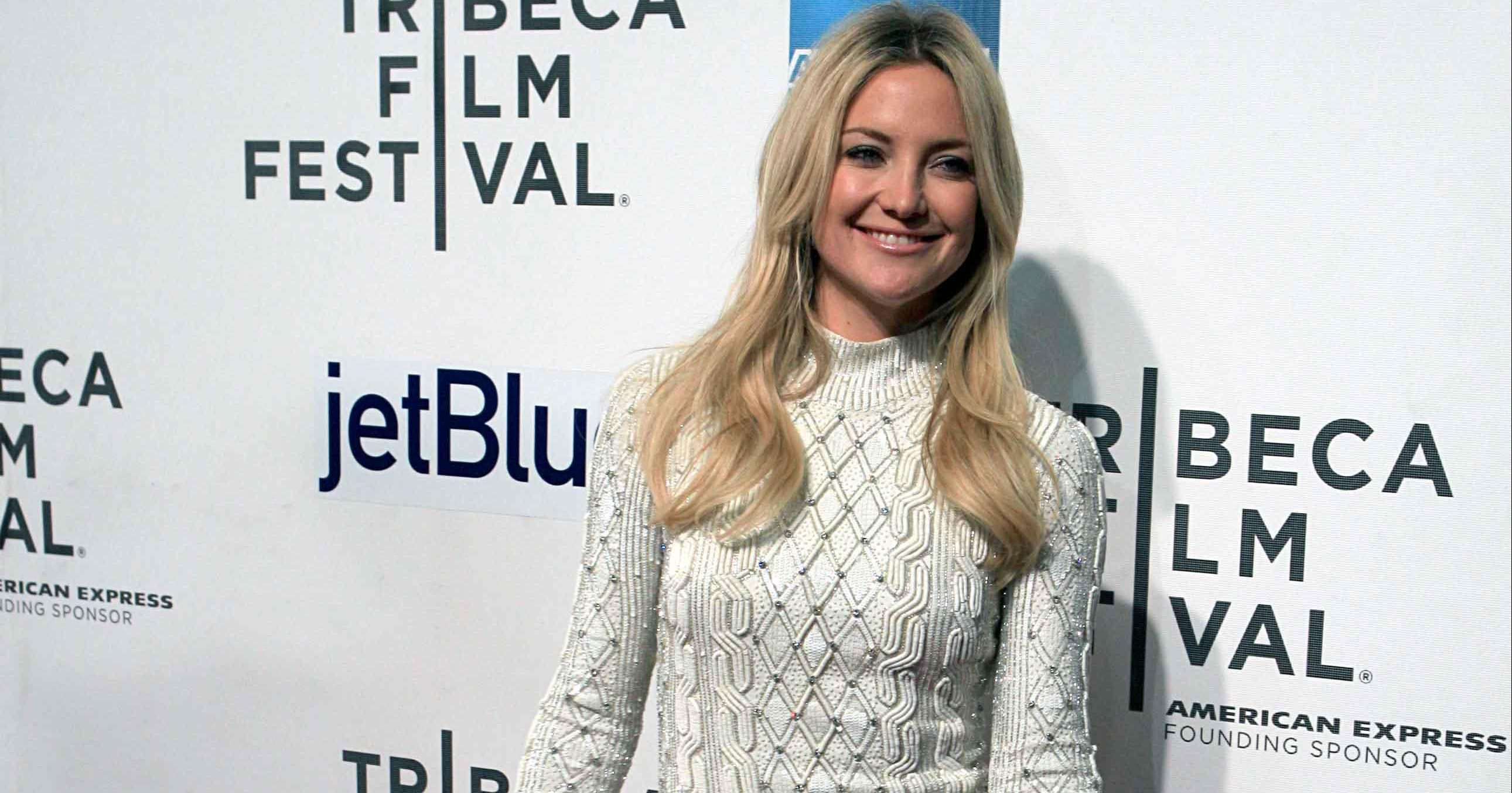 Kate Hudson returns to showbiz