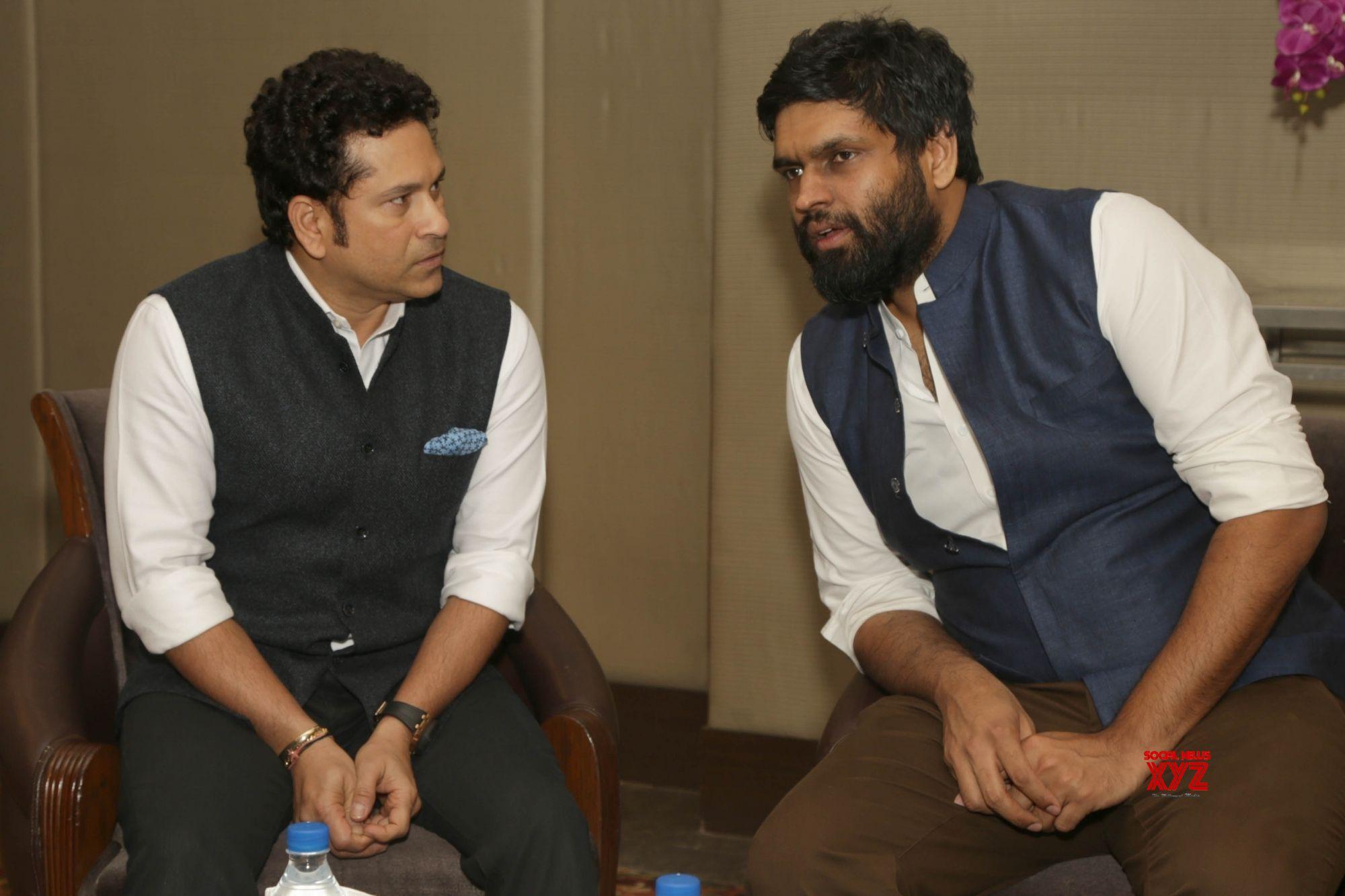 New Delhi: Sachin Tendulkar film promotion
