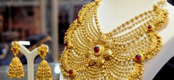 Gold ornament. (File Photo: IANS)