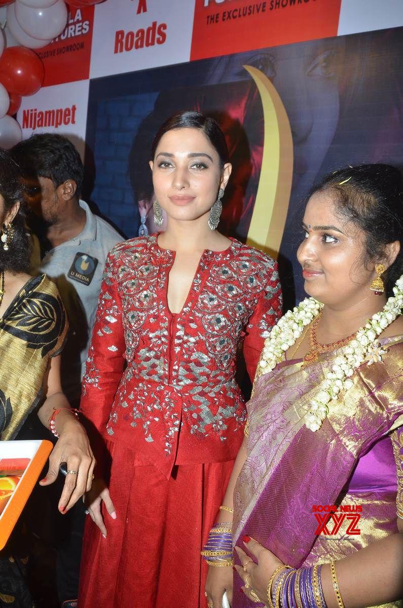 Tamannaah Launches Tirumala Furnitures At Nizampet Gallery