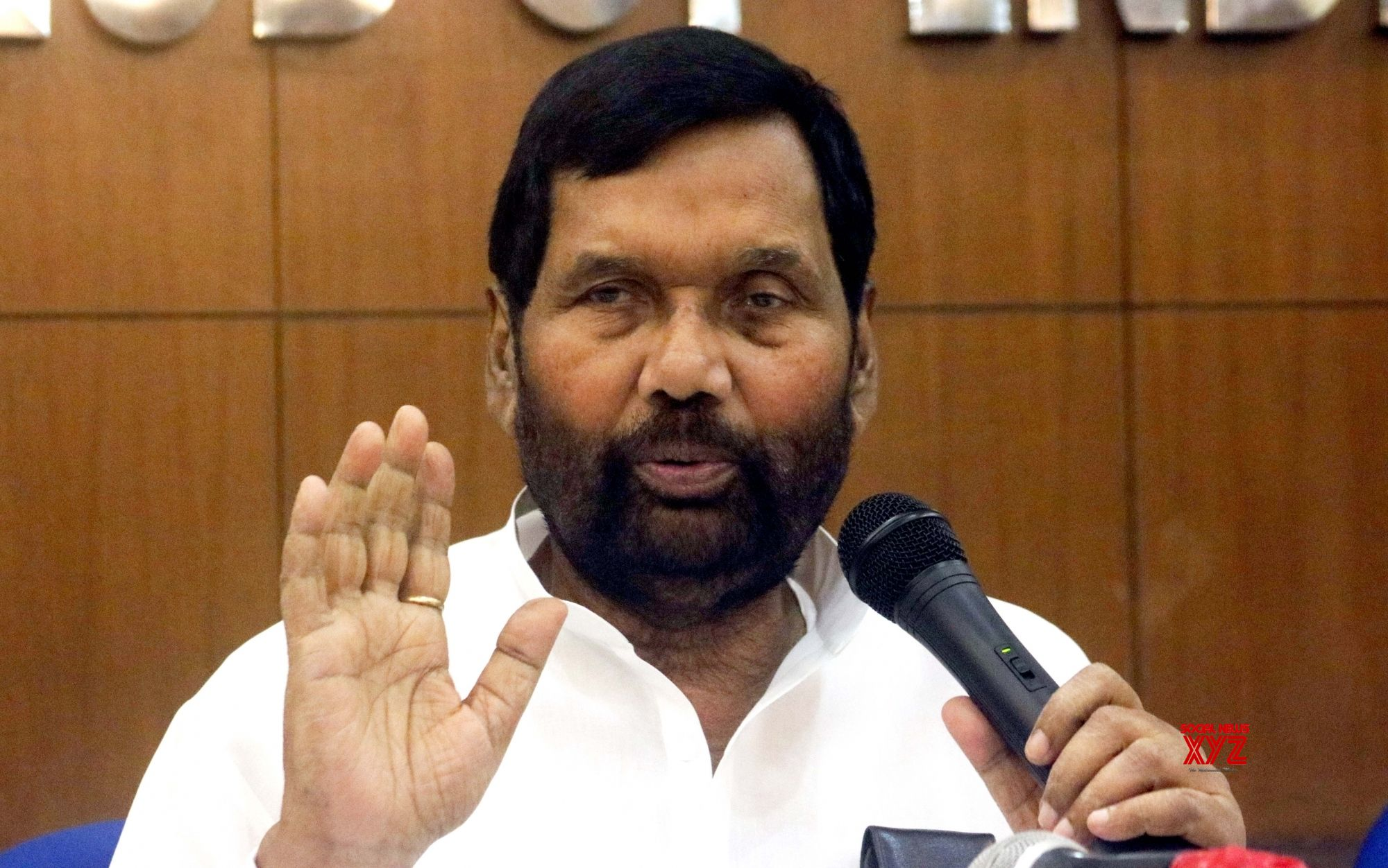 Paswan to campaign for ordinance on quota in promotions