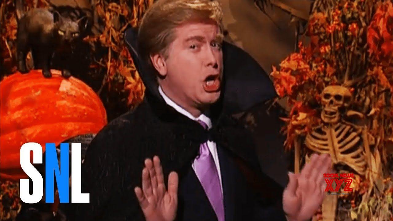ceb59c7e6aa5 The Apprentice Halloween Promo w  Donald Trump - SNL - Social News XYZ