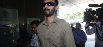 Mumbai: BCCI selector Vikram Rathour arrives to attend the the selection committee meeting for India's tour of Bangladesh 2015 at the Cricket Centre in Mumbai on May 20, 2015. (Photo: IANS)
