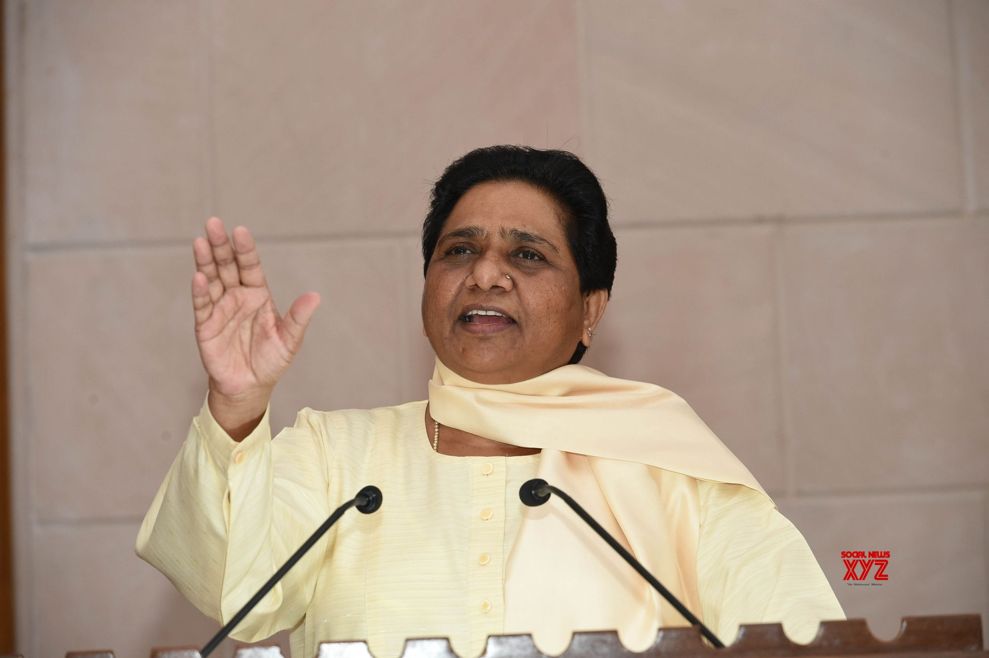 BJP'S policy of divide and rule wont't work: Mayawati