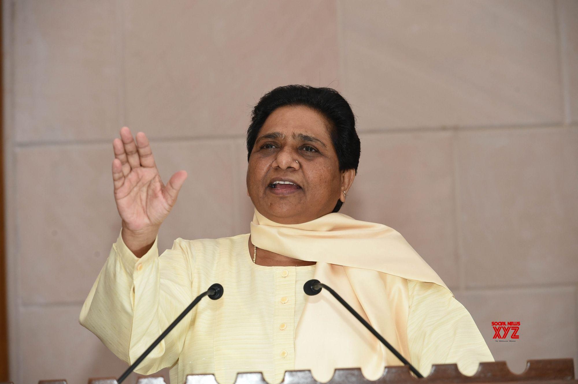 PM splurges on publicity to hide failures: Mayawati