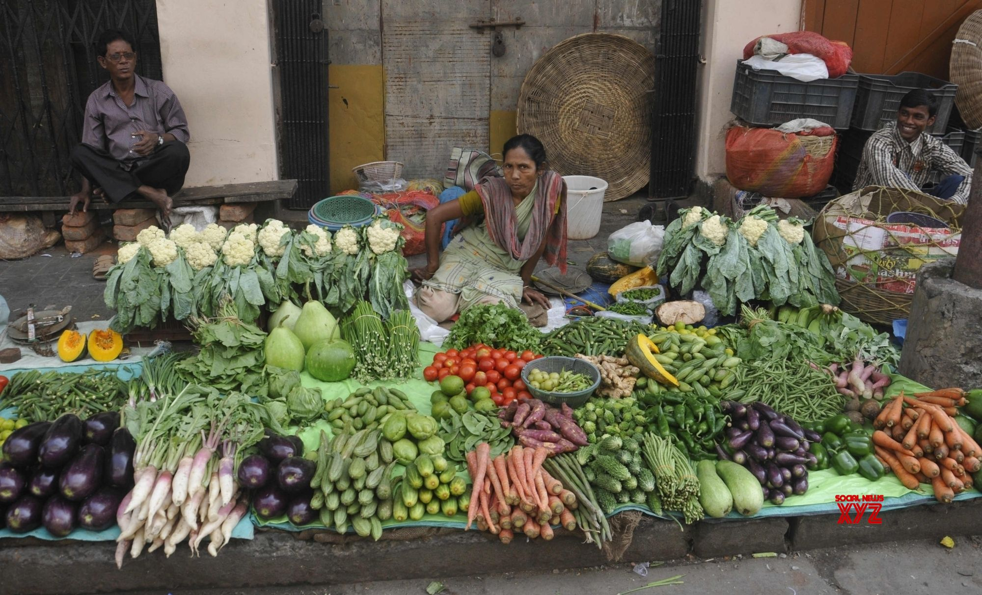 Lower food prices more than halve India's retail inflation in January