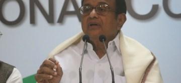 Congress leader P Chidambaram.(File Photo: IANS)