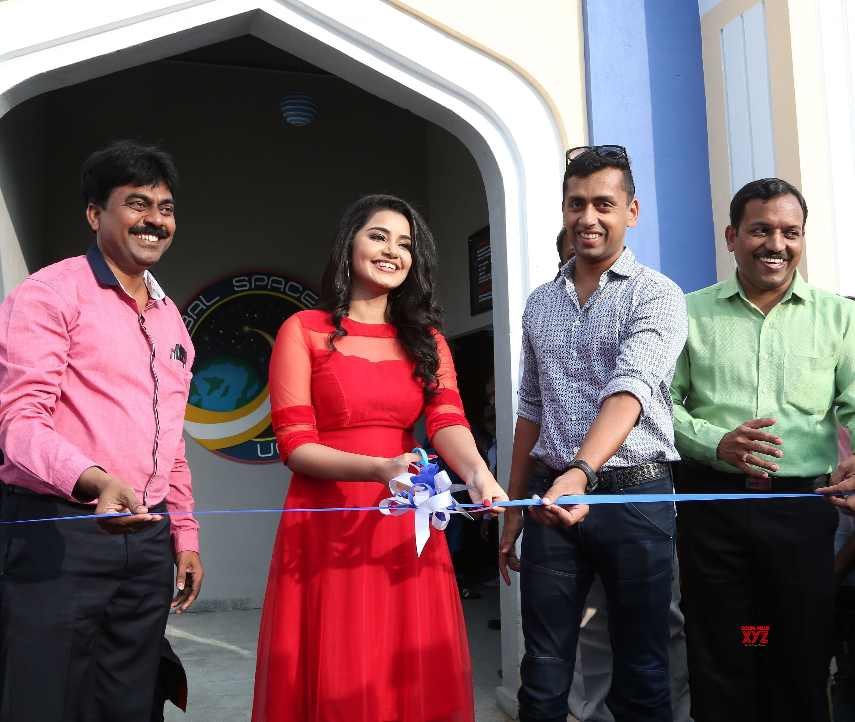Anupama Parameswaran unveiled India's first space flying experience ride at Wonderla Hyderabad