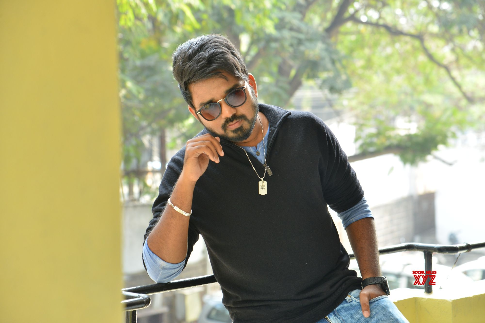Vanavillu Movie Hero Pratheek Prem Interview Stills