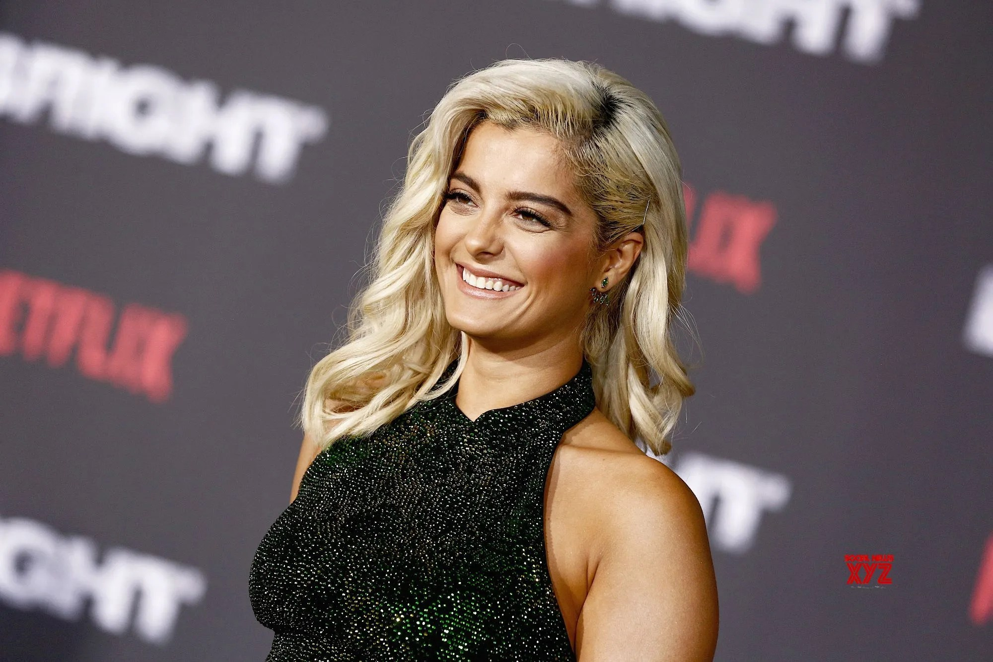 Bebe Rexha attends the LA Premiere of Netflix Films 'BRIGHT' on December 13, 2017 in Los Angeles, California.