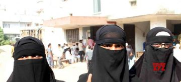 Muslim women in Burkha. (File Photo: IANS)