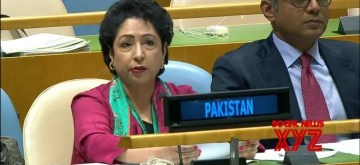 Pakistan's Permanent Representative Maleeha Lodhi. (Photo: UN/IANS)