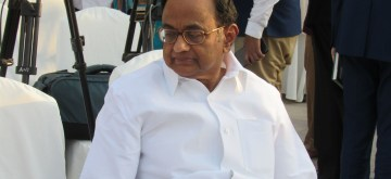 P. Chidambaram. (File Photo: IANS)