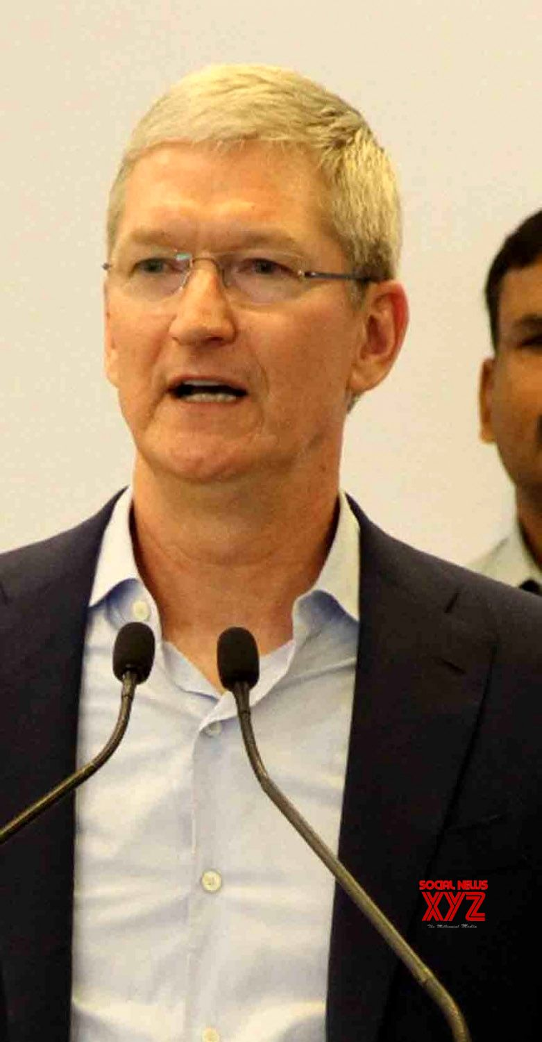 Apple CEO Tim Cook. (File Photo: IANS)