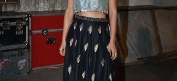 "Mumbai: Actress Patralekhaa at the ""Punjab Icon Award 2018"" in Mumbai on April 8, 2018. (Photo: IANS)"
