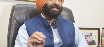 New Delhi: BJP legislator from Rajouri Garden Manjinder Singh Sirsa addresses a press conference in New Delhi on May 20, 2017. (Photo: IANS)