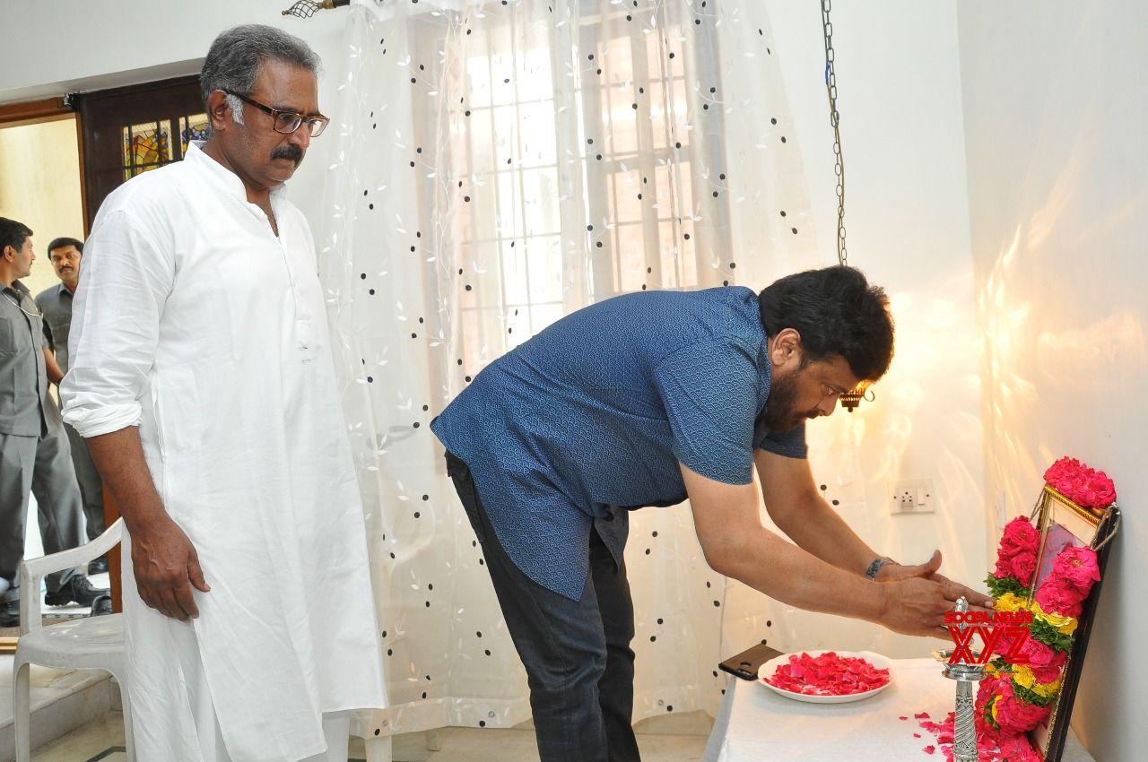 Chiranjeevi Condoles Banerjee's Family
