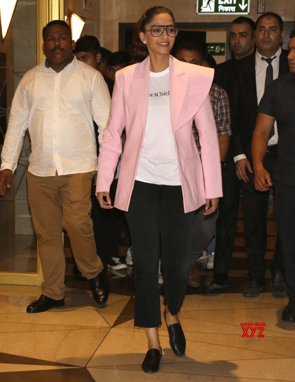 Veerey Di Wedding.New Delhi Sonam Kapoor Promotes Veerey Di Wedding Gallery