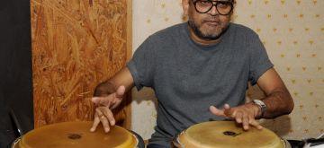 Mumbai: Singer Amit Kumar during a jam session, in Mumbai on June 9, 2018. (Photo: IANS)
