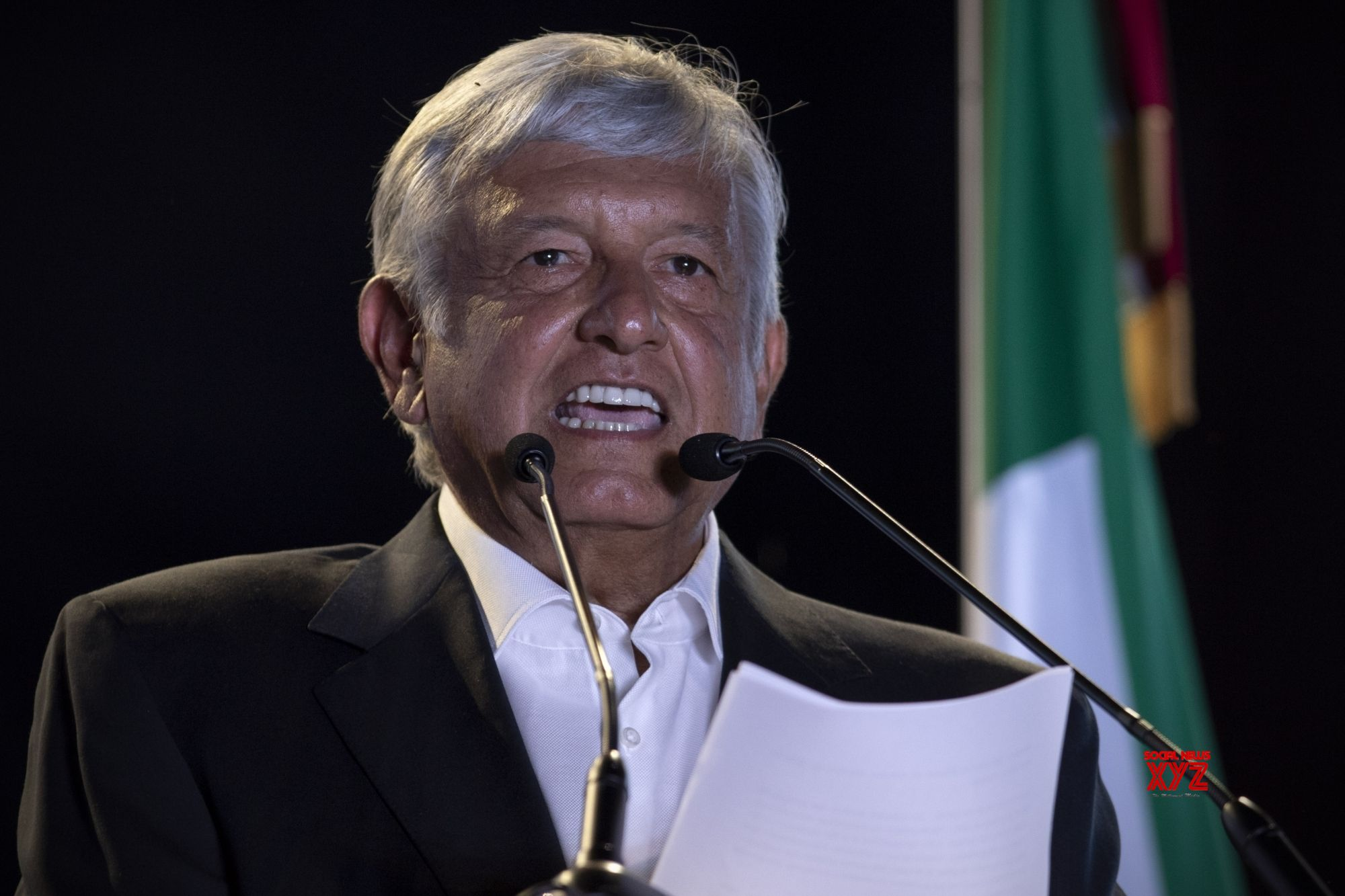 Mexico's new president takes office