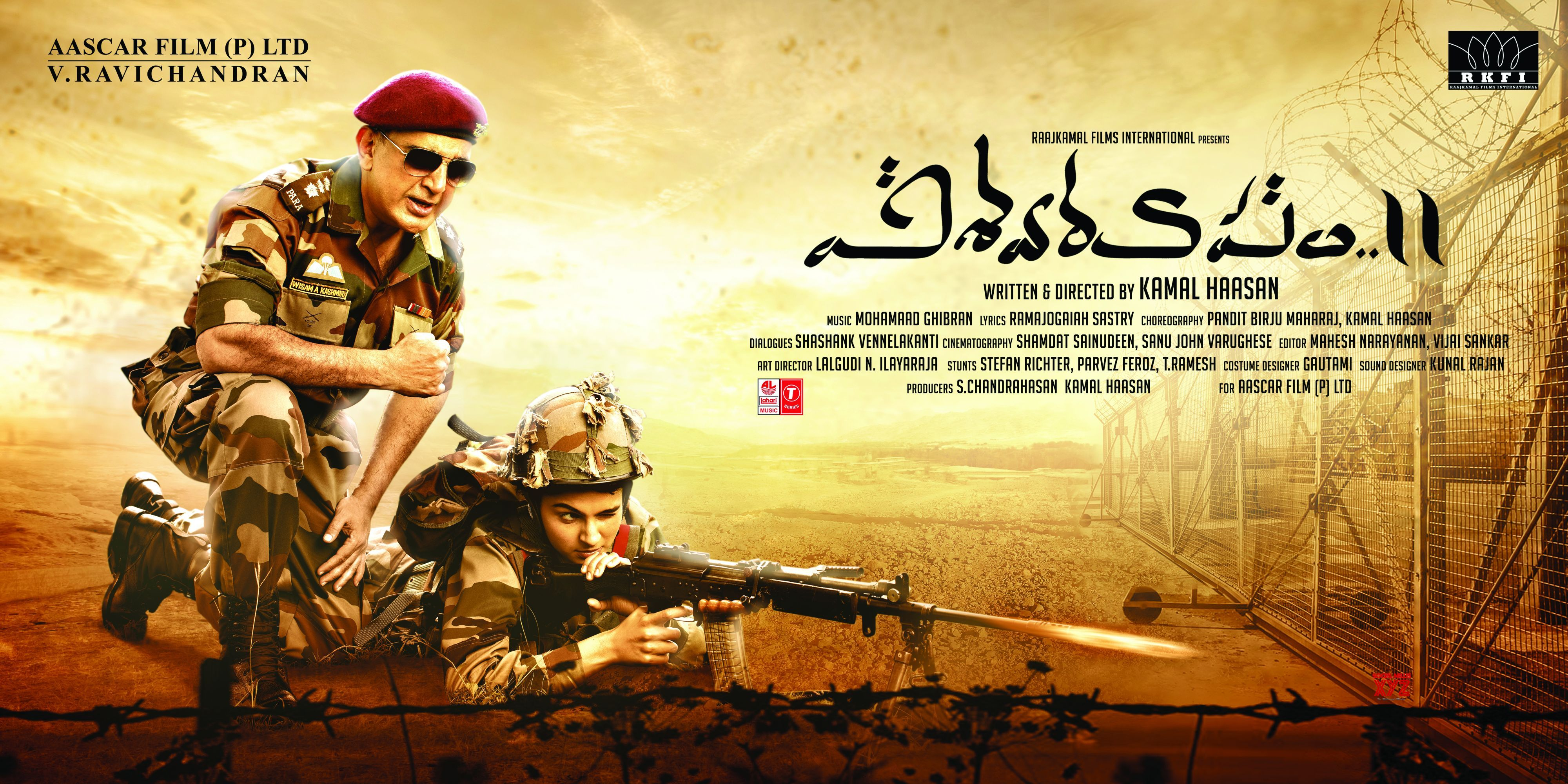 Kamal Haasan pounds a pulsating anti-terror film (Movie Review ***  1/2 )