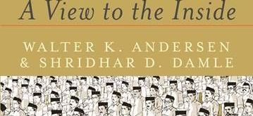 "Book cover of Walter K. Andersen and Shridhar D. Damle's book ""The RSS: A View to the Inside"". (File Photo: IANS)"