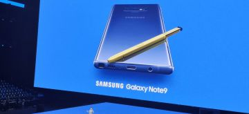 New York: Samsung launches Galaxy Note 9 at Brooklyn Barclays Centre in New York City on Aug 9, 2018. (Photo: IANS)