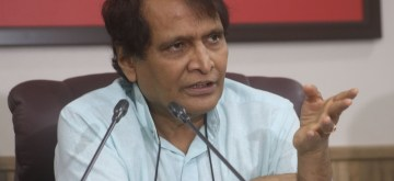 Suresh Prabhakar Prabhu. (Photo: IANS)