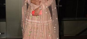 """Mumbai: Actress Dipika Kakar at the special screening of film """"Paltan"""" in Mumbai on Sept 6, 2018. (Photo: IANS)"""